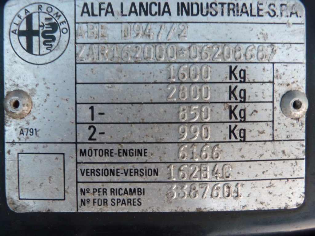 Alfa Romeo 75 2.0 Twin Spark large