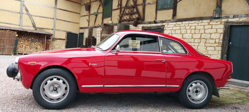 Alfa Romeo Giulia Sprint 1600 (Tulpen) Rallye klaar large
